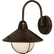 Forte Lighting 1-Light Outdoor Barn Light; Antique Bronze