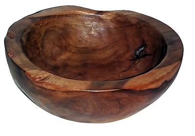 Bamboo54 Teak Medium Round Decorative Bowl