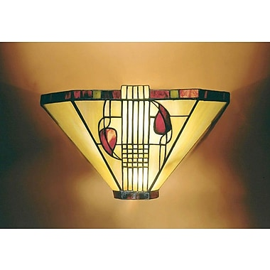 Dale Tiffany Miniature 1-Light Henderson Wall Sconce