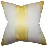 The Pillow Collection Jaleesa Stripes Throw Pillow; 18'' x 18''