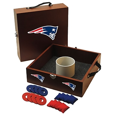 Tailgate Toss NFL Washer and Ring Toss; New England Patriots
