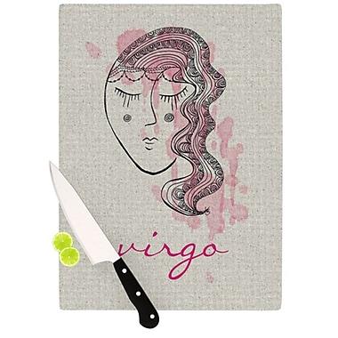 KESS InHouse Virgo Cutting Board; 11.5'' H x 15.75'' W x 0.15'' D