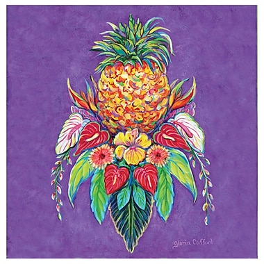 Thirstystone Welcome Pineapple I Occasions Coasters Set (Set of 4)