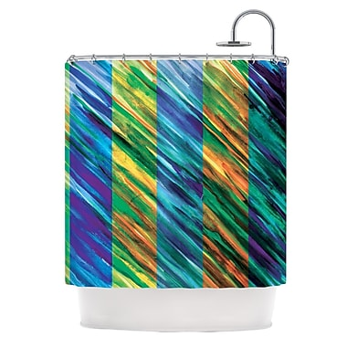 KESS InHouse Set Stripes II Shower Curtain