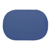 Kraftware Fishnet Placemat (Set of 12); Blue