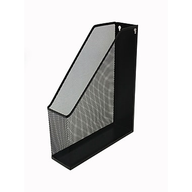 Buddy Products 174 Single Mesh Magazine File Holder Black