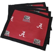 College Covers Border Placemat (Set of 4); Alabama