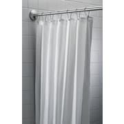Bradley Corporation Antimicrobial Nylon/Vinyl Shower Curtain; 72'' H x 48'' W
