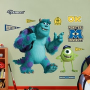 Fathead Disney Monsters University Mike and Sulley Wall Decal