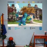Fathead Disney Monsters University Mike & Sulley Campus Wall Decal