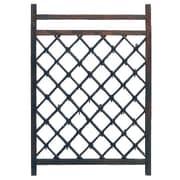 Oriental Furniture Wood Lattice Panel Trellis