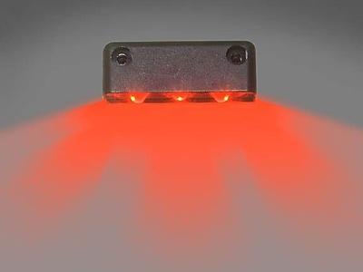 Innovative Lighting Truck/Trailer Rear ID Lighting; White/Red