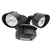 Lithonia Lighting 2-Light LED Flood Light; Bronze