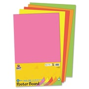 Pacon Creative Products 14'' x 22'' Posterboard (5 Pack); Neon