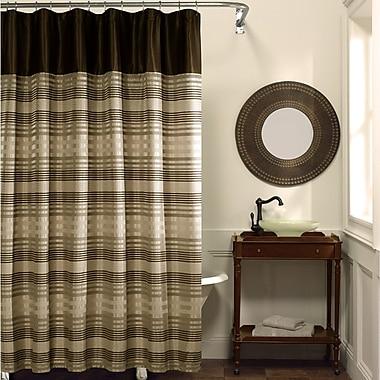 Maytex Blake Chenille Shower Curtain