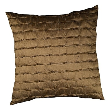 LR Resources Vanessa Throw Pillow; Clay