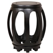 Oriental Furniture Pedestal Plant Stand; Matte Lacquer