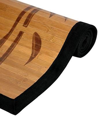 Oriental Furniture Bamboo Tree Area Rug; 4' x 6'