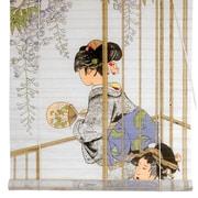 Oriental Furniture Geisha Shoji Rice Paper Roller Blind; 48'' W x 72'' L