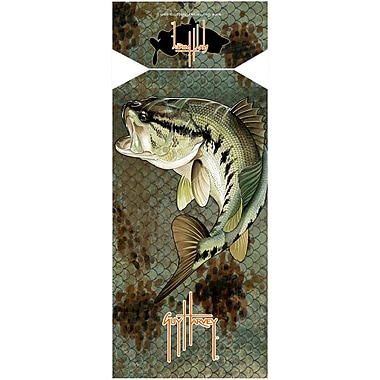 Fiberbuilt Guy Harvey Bass Camo Beach Towel