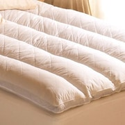 Pacific Coast Feather Euro Rest 2'' Feathers Mattress Topper; Full