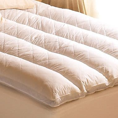 Pacific Coast Feather Euro Rest 2'' Feathers Mattress Topper; King