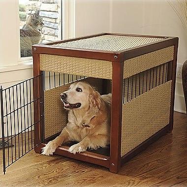 Mr. Herzher's Deluxe Pet Crate; Medium (25'' H x 21'' W x 30'' L)