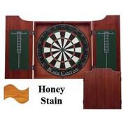 Black Canyon Dart Board Cabinet in Honey