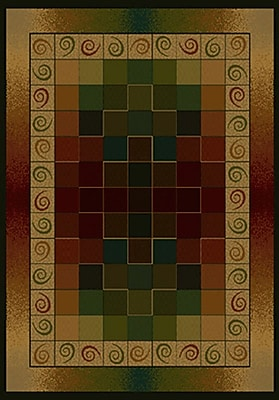 United Weavers of America Genesis Montage Lodge Area Rug; Rectangle 5'3'' x 7'6''