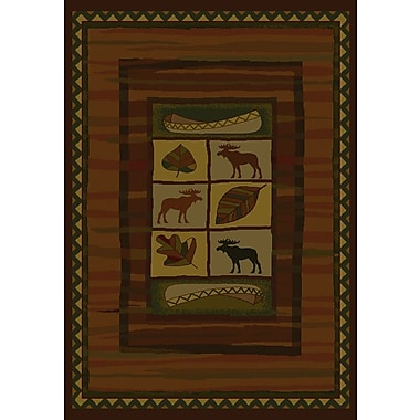 United Weavers of America Genesis Highland Falls Lodge Area Rug; 7'10'' x 10'6''
