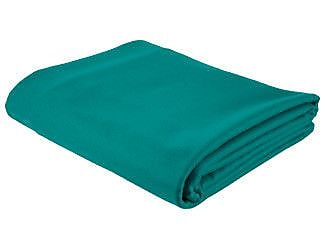 Cuestix 10' Valley Ultra Table Cloth in Tournament Green
