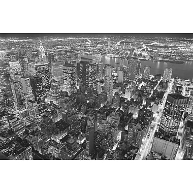 Brewster Home Fashions Ideal Decor Empire State Building View Wall Mural