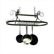 Enclume USA Handcrafted Decor Oval Ceiling Pot Rack