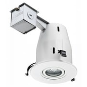 Lithonia Lighting 4'' Recessed Lighting Kit; White