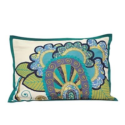 Novica The Seema Applique Pillow Cover