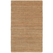 LR Resources Natural Fiber Brown Area Rug; 8' x 10'