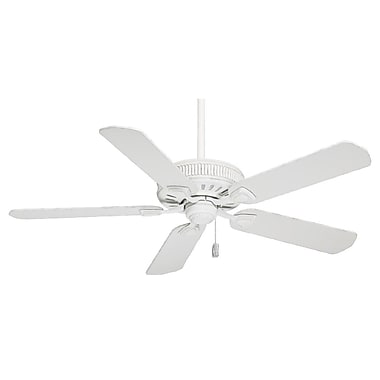 Casablanca Fan 54'' Ainsworth 5-Blade Fan; Cottage White