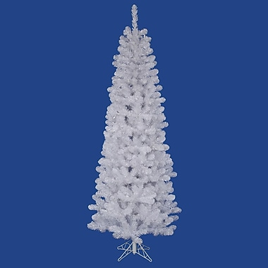 Vickerman Salem Pencil Pine 4.5' White Pine Artificial Christmas Tree
