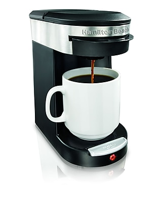 Hamilton Beach Personal One Cup Pod Brewer WYF078276525152