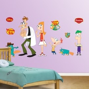 Fathead Disney Phineas and Ferb Wall Decal