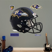 Fathead NFL Revolution Helmet Wall Decal; Baltimore Ravens