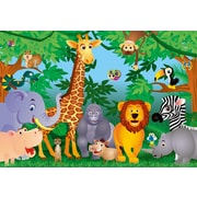 Brewster Home Fashions Ideal Decor In The Jungle Wall Mural