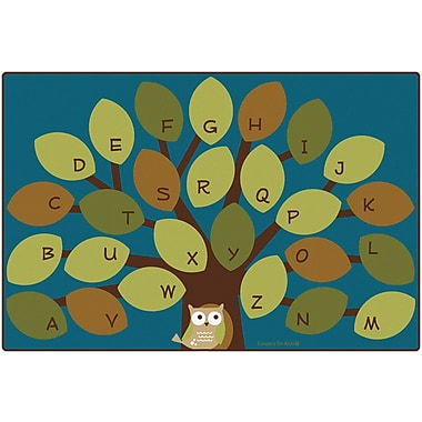 Carpets for Kids Owl-phabet Kids Rug; 6' x 9'