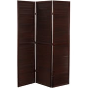 Oriental Furniture 70.25'' x 47.25'' Double Venetian 3 Panel Room Divider
