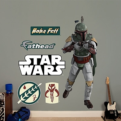 Fathead Star Wars Boba Fett Wall Decal WYF078276137316