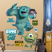 Fathead Disney Monsters Wall Decal