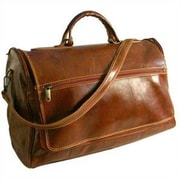 Floto Imports Taormina 21'' Leather Travel Duffel; Vecchio Brown