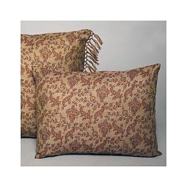 Belle Epoque Vine Floral Decorative Wool Lumbar Pillow