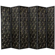 Oriental Furniture 72'' x 84'' Feng Shui Shoji 6 Panel Room Divider