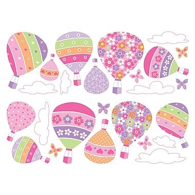 Brewster Home Fashions Euro Air Baloons Wall Decal